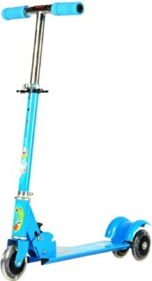 Deacon Kids 3 Wheel Metalic Scooter(Blue)