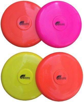 Sahni Sports Frisbee Flying Disk 9 Inch (Set Of 4)