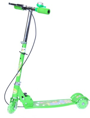 Happy Kids Foldable and Height Adjustable Scooter with Brakes for Kids (Glide)