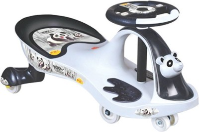 Ditu & Kritu Premium Swing Car(Black, White)