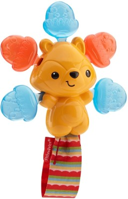 Fisher-Price Clickity-Clack Rattle Acorn Squirrel Rattle