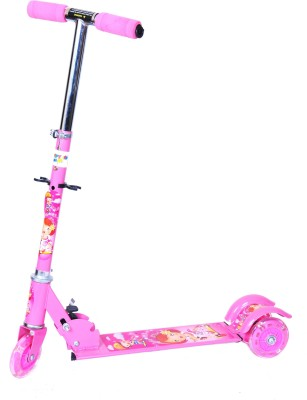 Happy Kids Foldable And Height Adjustable Scooter For Kids (Sleek)