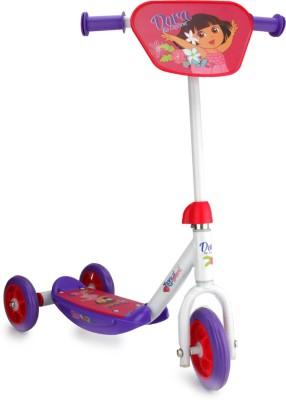Viacom18 Dora 3 Wheel Scooter Purple And White