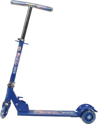 HLX NMC Zoomer 3 Wheel Kids Kick Scooter Blue. Blue  available at Flipkart for Rs.634