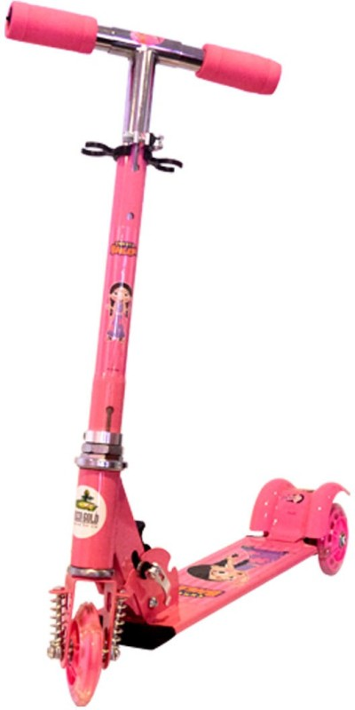 Chhota Bheem Chutki 3 Wheel Scooter - Pink Tricycle(Pink)