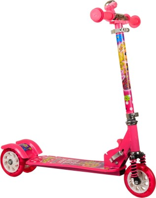 Little Playon Little Play on Kick Scooter Pink for 4 to 8 years(Pink)