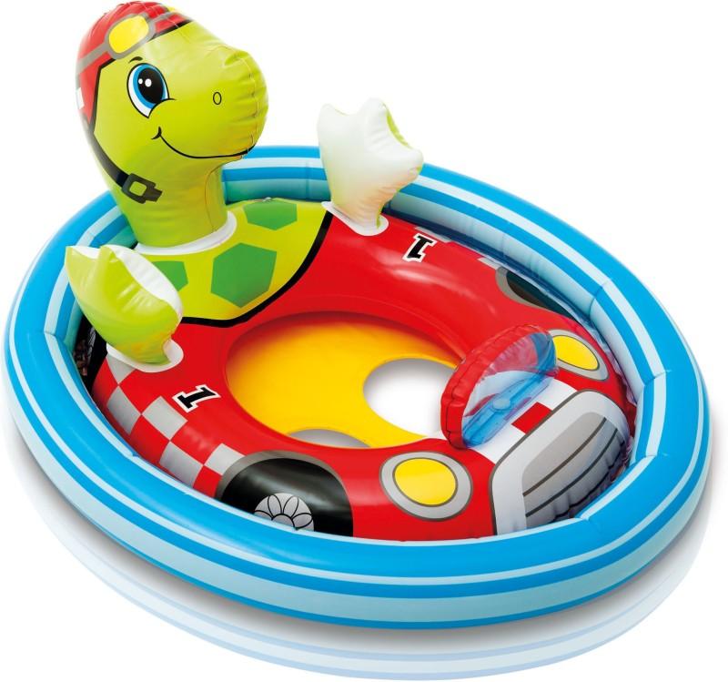 Intex See-Me-Sit Pool Riders, Turtle(Multicolor)