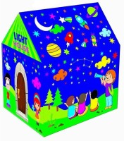 Variety Gift Centre Tent House with LED Lights(Multicolor)