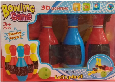 Darling Toys Play Bowling Set With 3d Lights & Sounds