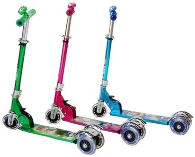 Fantasy India Kids Scooter With Bell - Assorted Colors