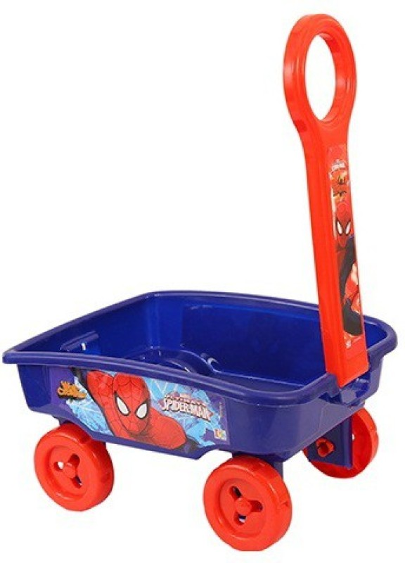 Marvel Spider man Toy Wagon(Multicolor)