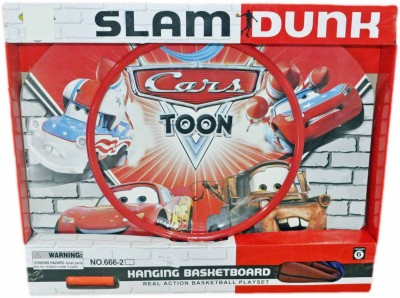 Cars Slam Dunk Hanging Basket Ball Board - Large - Cars