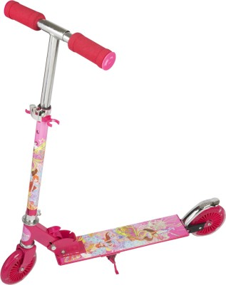 Toyhouse Height Adjustabe Folding Scooter with Wheel lights
