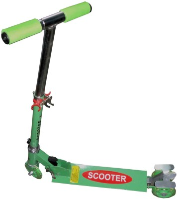 Lukluck Kids Foldable Scooter 3 Wheel(Green)