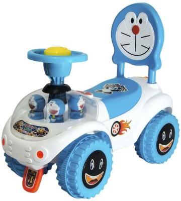 Panda Baby Blue & Whie Doremone Car Rider