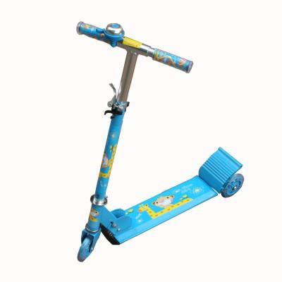 Adraxx Blue Three wheeler scooty