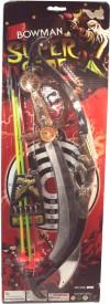 Parteet Bowman Super Archery Set for Kids(Multicolor)