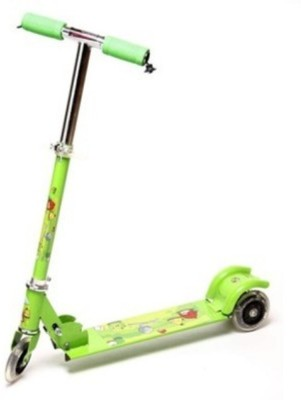 SHREE JI ENTERPRISES Three Wheeled Metal Folding Skate Scooter