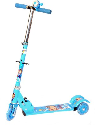 Naughty Kid 3 Wheel Bell Scooter Witth Shockers