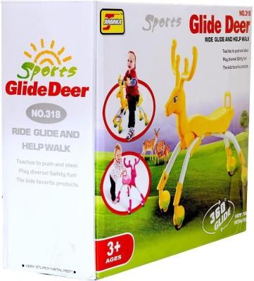 Planet of Toys Glider Deer Walker (360 degree Glide)