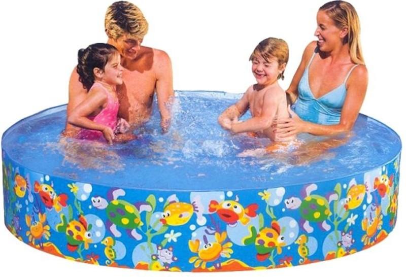 Intex Fun Swimming Pool-8ft(Blue)