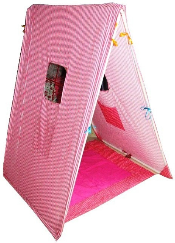 Creative Textiles Triangle Play Tent(Pink)