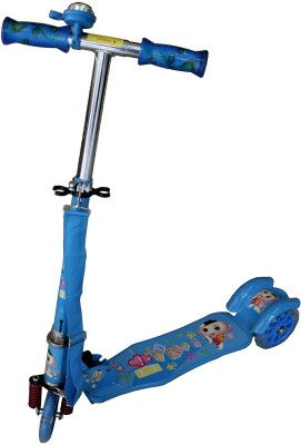 Adraxx Blue free style jumping scooter