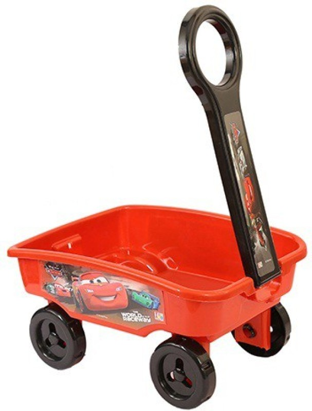 Disney Pixar Cars Toy Wagon(Multicolor)