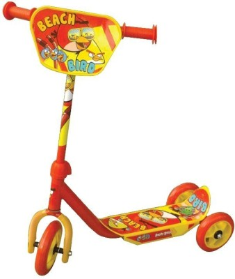 Tabu Angry Birds Three Wheel Scooters(Multicolor)
