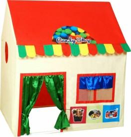 TRINETRA ENTERPRISE candy shop tent(Multicolor)