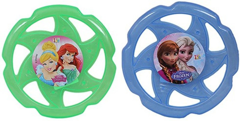 Disney Combo of Disney Princess and Frozen Flying Disc(Multicolor)