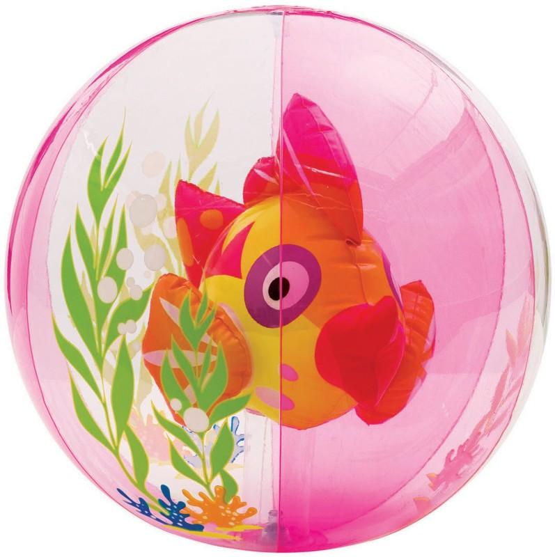 Intex Aquarium Beach Balls(Pink)
