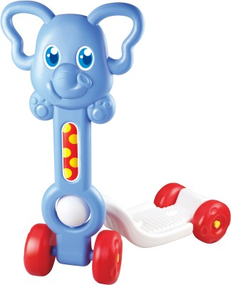 Kids Villa My First Safari Rider Elephant(Blue)