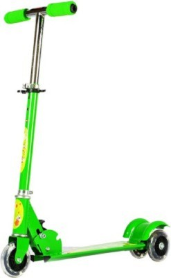 Deacon Kids Three Wheel Metal Folding Scooter (Green)