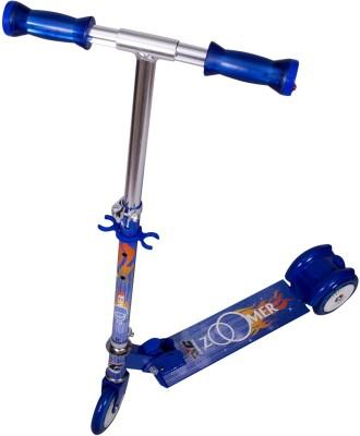 COSMIC ZOOMER LED 3 WHEEL KIDS KICK SCOOTER BLUE