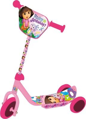 Viacom18 Dora 3 Wheel Scooter Pink