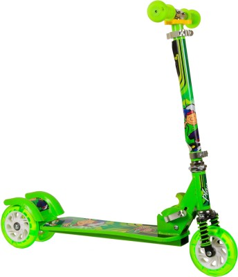 Little Playon Little Play on Kick Scooter Green for 4 to 8 years