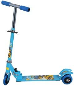 Mithark Three Wheel Manual Scooter(Blue)