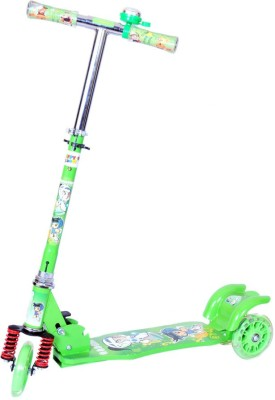 Naughty Kid 3 Wheel Scooter With Excellent Shockers & Bell