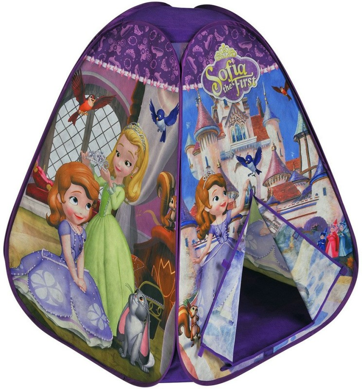 Disney Sofia the First 2 side Printed Tent(Purple)