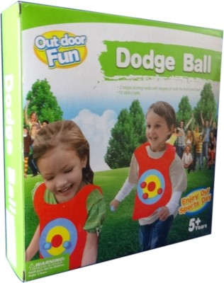 Pigloo Dodge Balls with 2 Target Velcro Vests