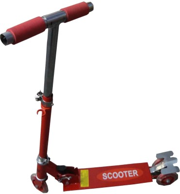 Lukluck Kids Foldable Scooter 3 Wheel(Red)