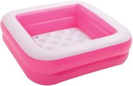 Wish Kart Intex Pink Box Play Baby Pool(Multicolor)
