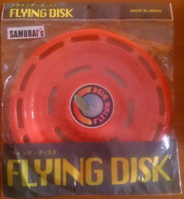 Samurais Flying Disk