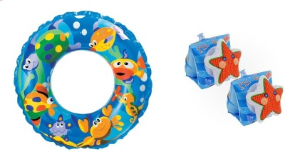 Intex Combo of Swimming Tube & Safety Arm Bands