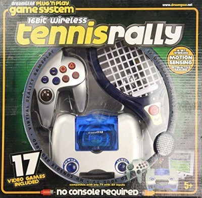 dreamGEAR Plug ,N Play Wireless Tennis with 40 Games