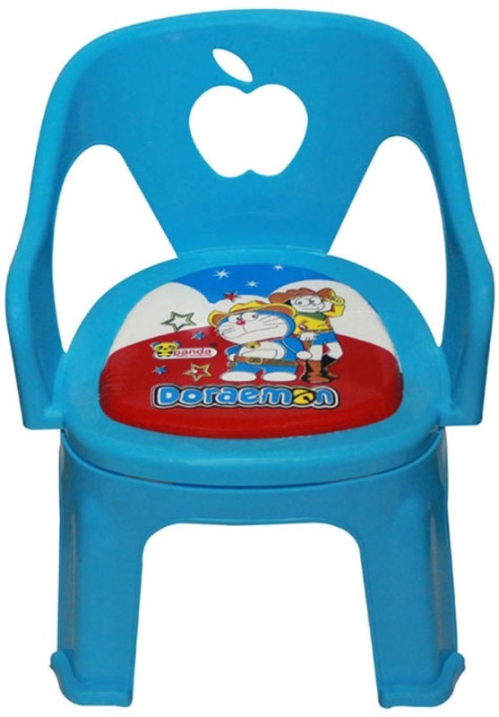 Panda Attractive, Colourful & Branded Kids Apple Chair(Blue, Red, Yellow, Pink, Purple)