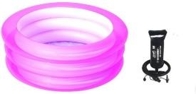 Best Way Kiddie Pool Pink with Pump(Pink, Black)