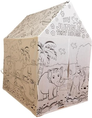 Awws & Wows Jungle Tent House - Paint Your Imagination