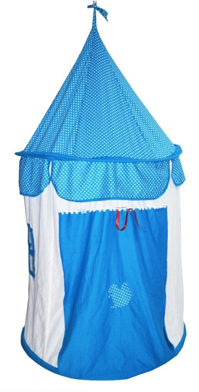 Creative Textiles Play House Hanging(Blue)